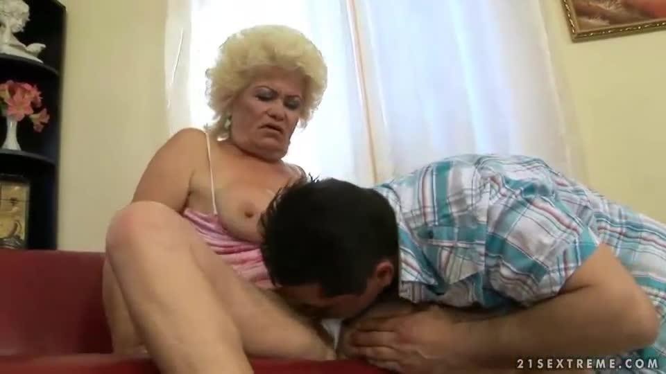 Fuck ugly granny