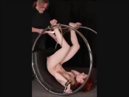 Self bondage fucked my gag balls