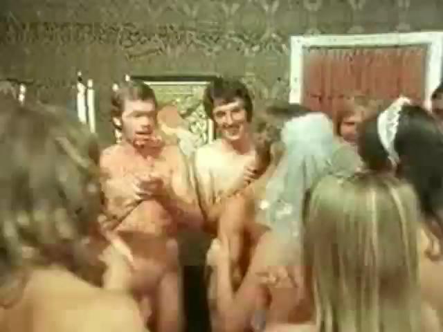 70s flick - nude wedding