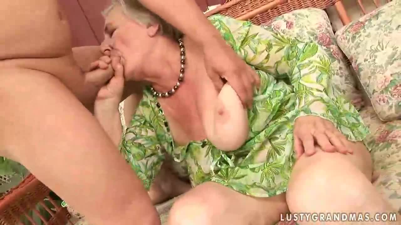 Very old busty grannies