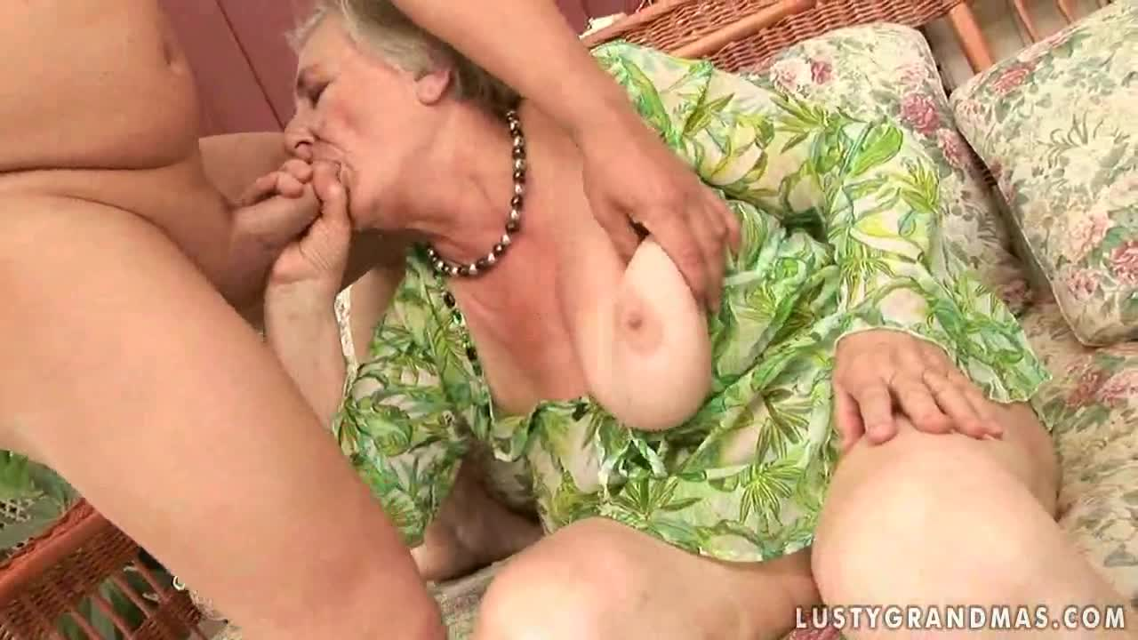 Sex with very old grannies