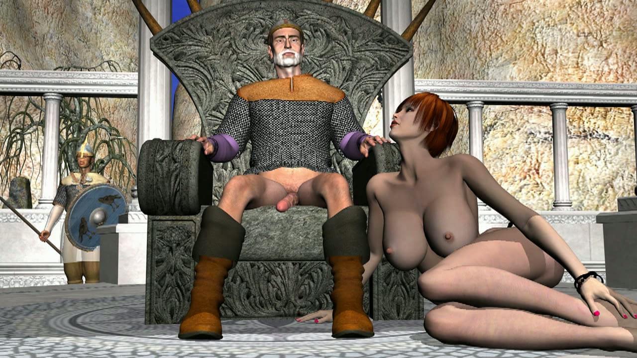 Викингов порно немецкий про мультфильм