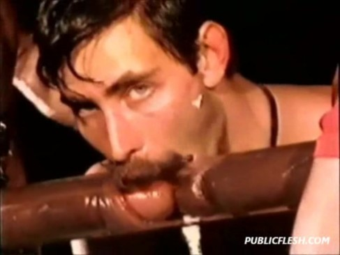 retro rare interracial gay penis pumped cocks stroked and sucked