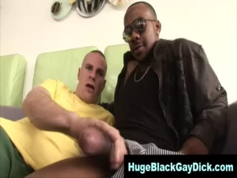 Watch Hungry Gay Get Interracial Dick