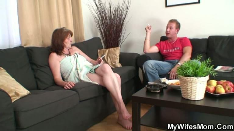 Husbands watch their wives have sex