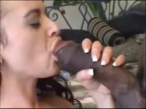 Wife cheats with huge black cock