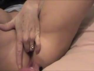 Wife with dildo orgasm