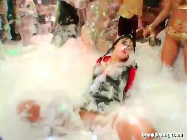 Think, Teen foam party porn interesting