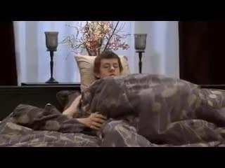 Under the sheets blowjob pair tits